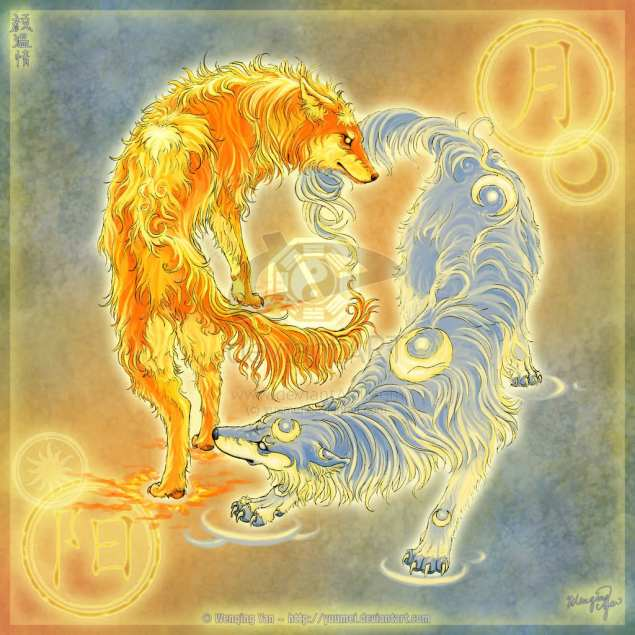 Wolves_of_Moon_and_Sun_by_yuumei